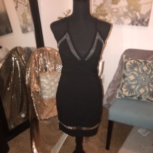 NWT V-cut bodycon dress